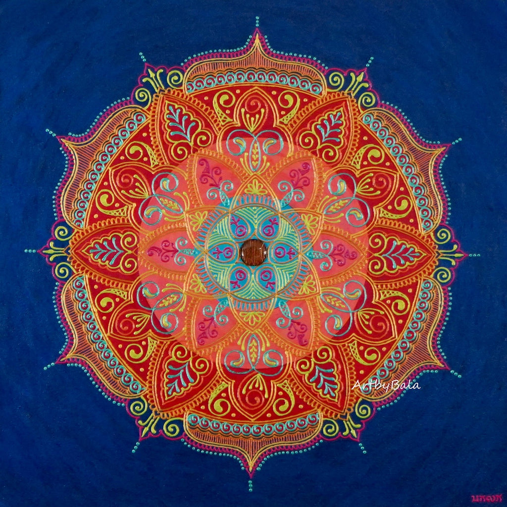 Fulfillment Mandala - Art by Bala
