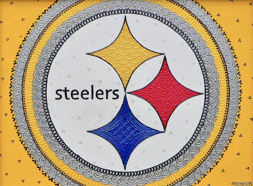Steelers - Art by Bala