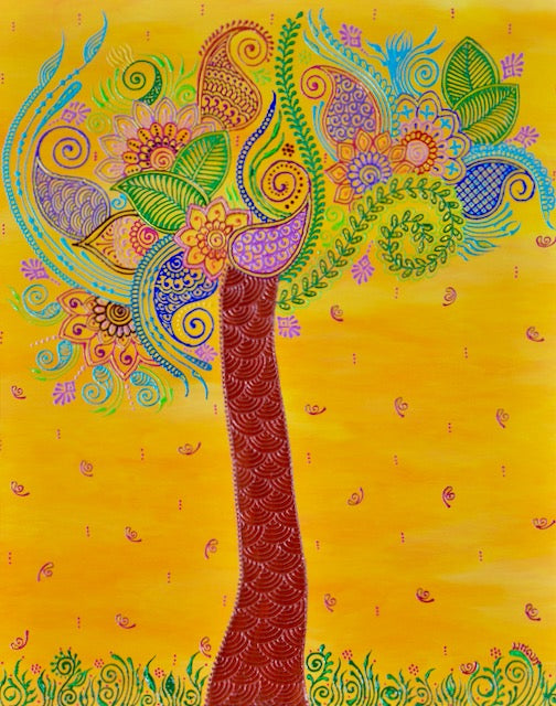 Tree of Life - Art by Bala