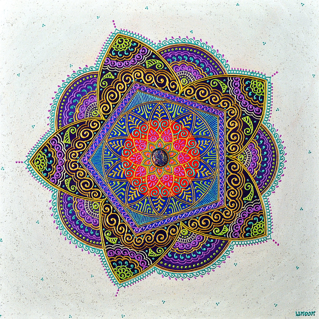 Inspiration Mandala - Art by Bala