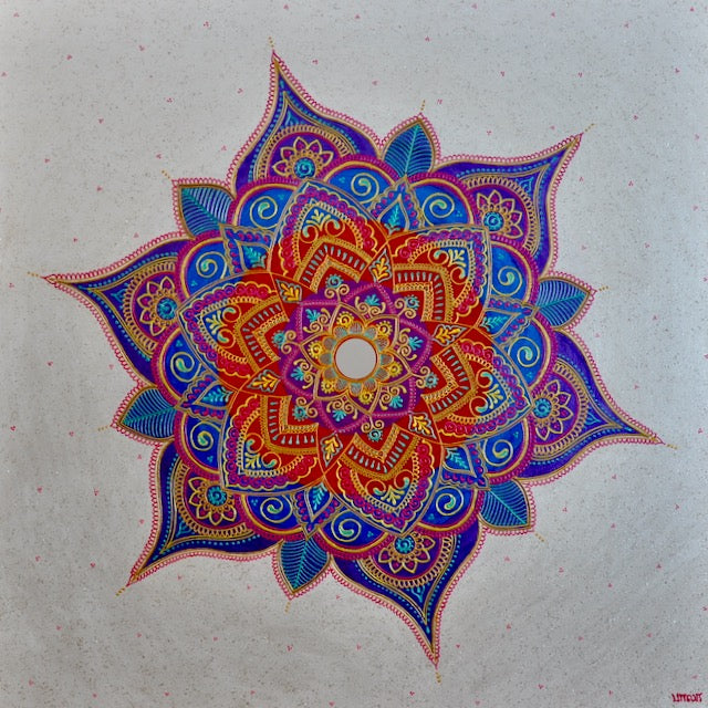 Enhancement Mandala - Art by Bala