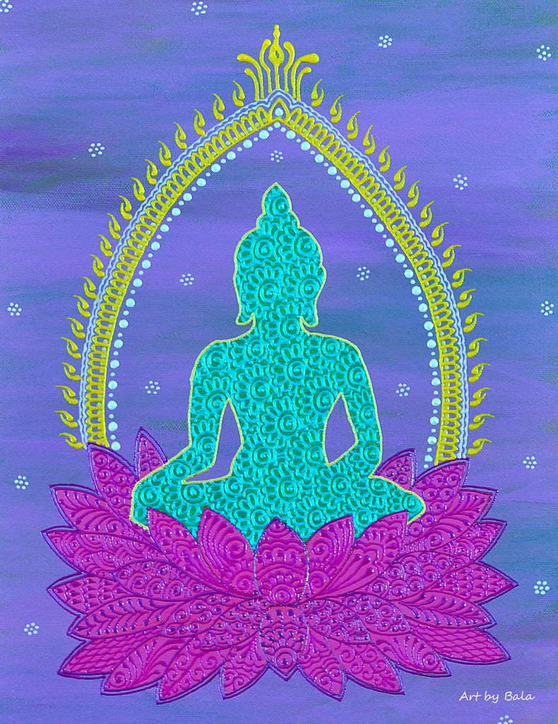 Buddha - Art by Bala