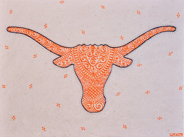 Texas Longhorns - Art by Bala