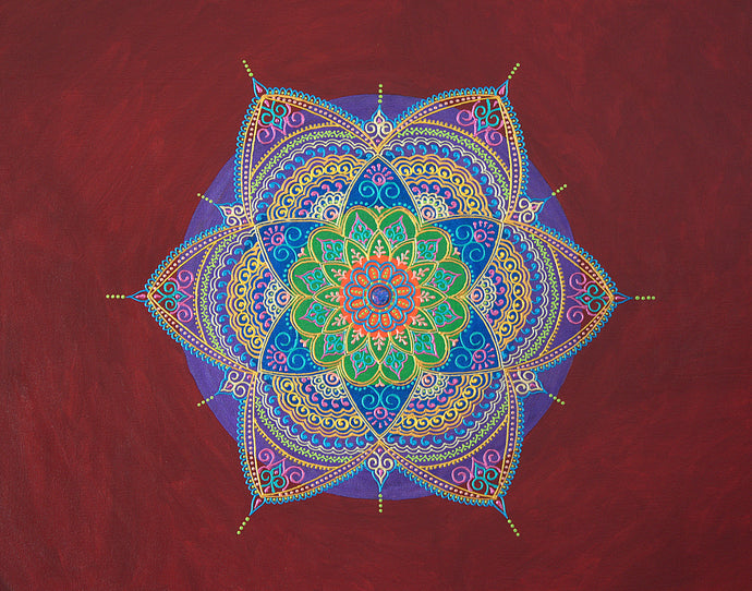 Resonance Mandala - Art by Bala