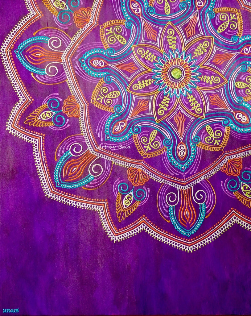 Determination Mandala - Art by Bala