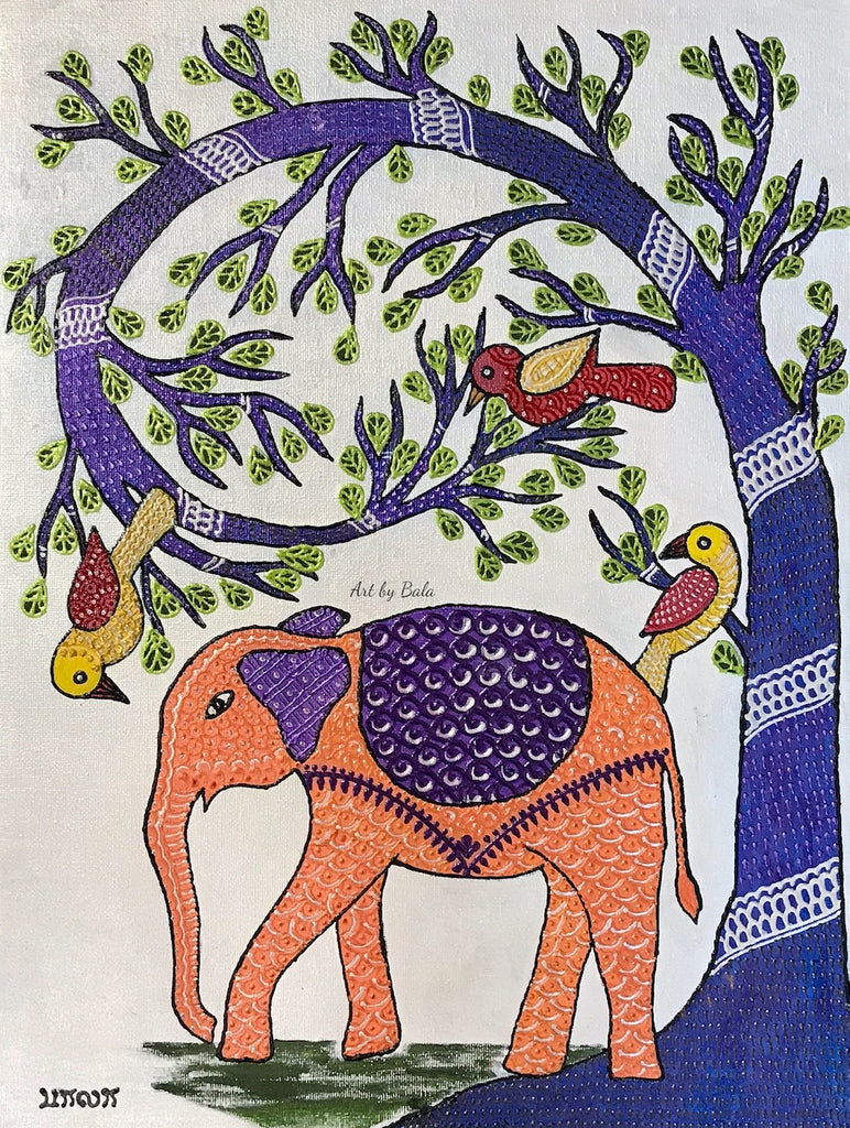 Gond Painting | Art by Bala