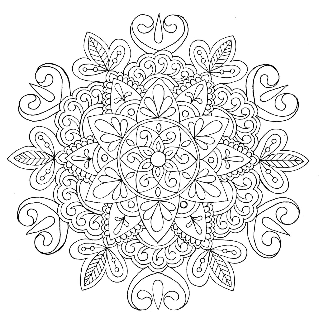 Meditative Mandalas - Art by Bala