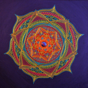 Motivation Mandala - Art by Bala