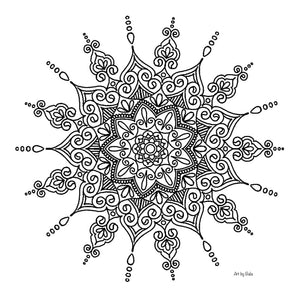 Mandala Coloring Page - 2 - Art by Bala