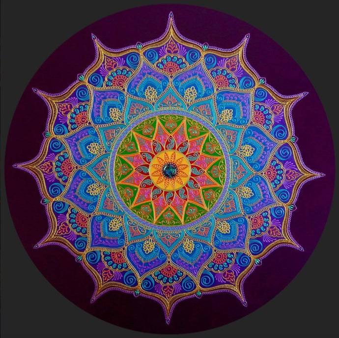 Empathy Mandala - Art by Bala
