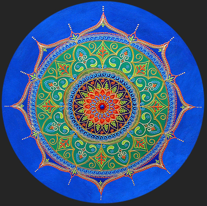 Spirit Mandala - Art by Bala