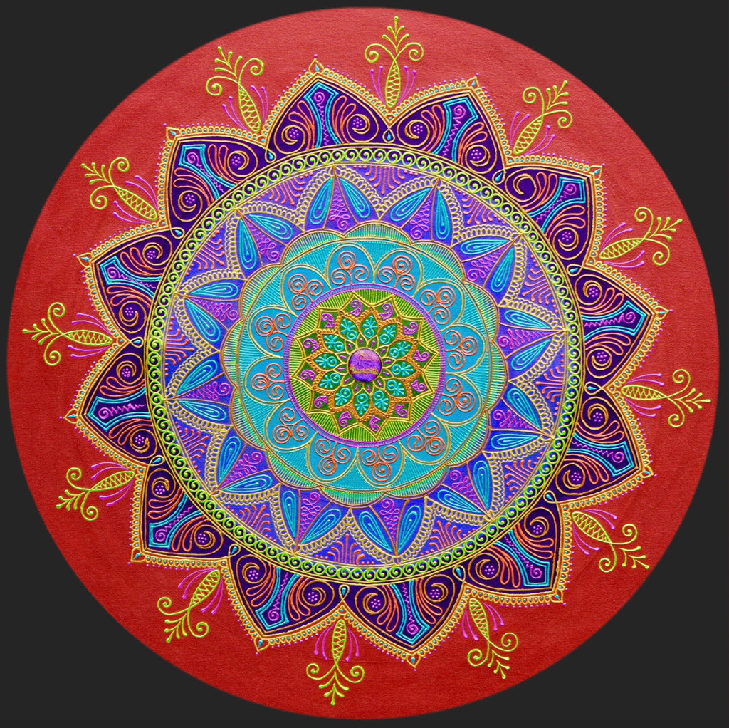 Purpose Mandala - Art by Bala