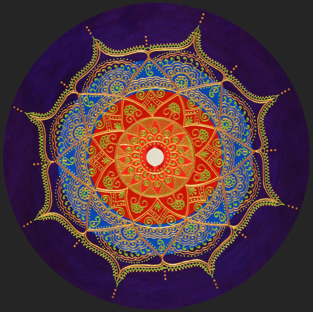 Kaleidoscope Mandala - Art by Bala
