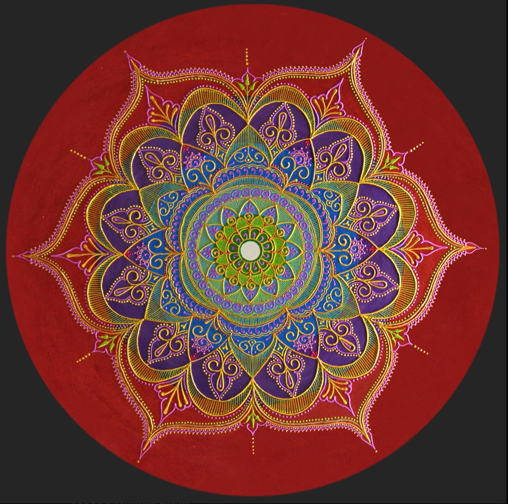 Celebrations Mandala - Art by Bala