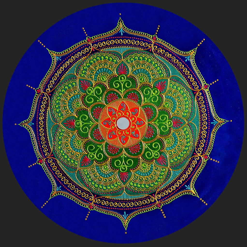 Illumination Mandala - Art by Bala