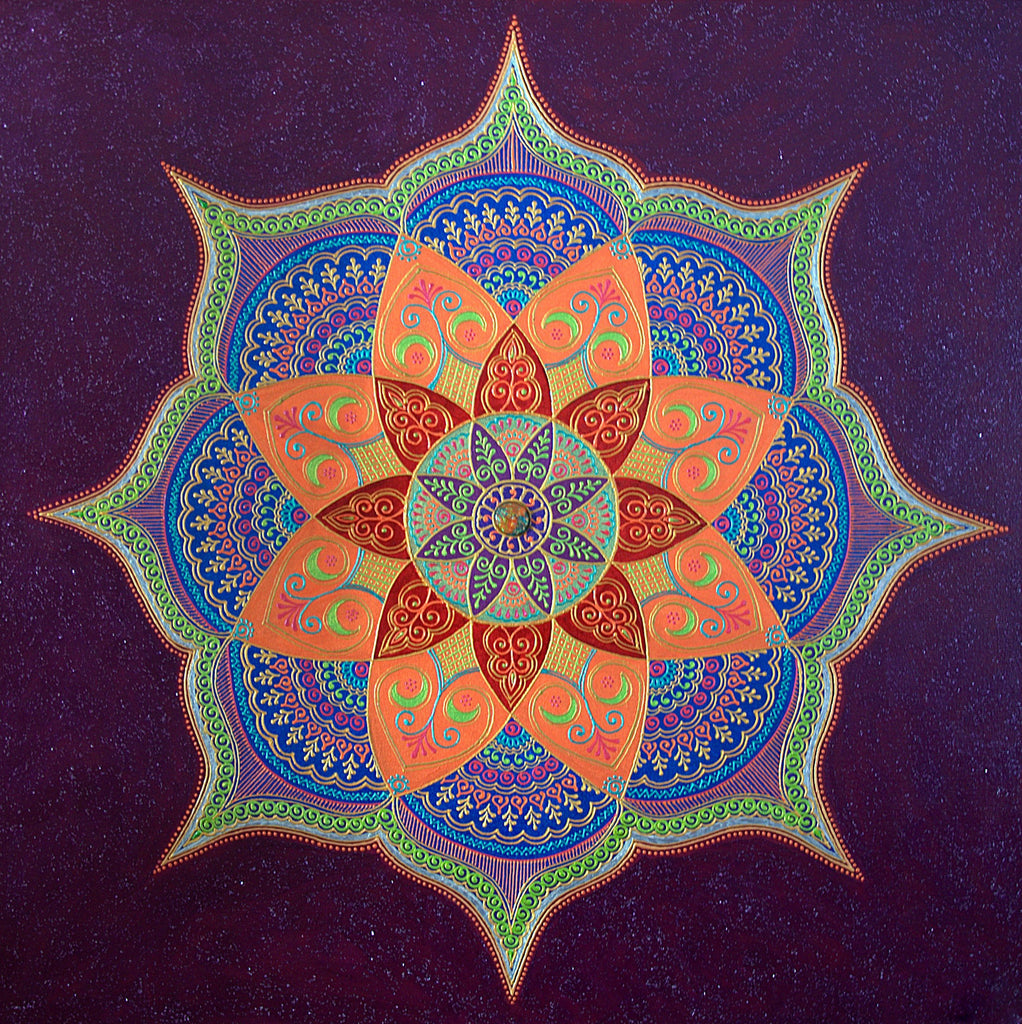 Manifestation Mandala - Art by Bala
