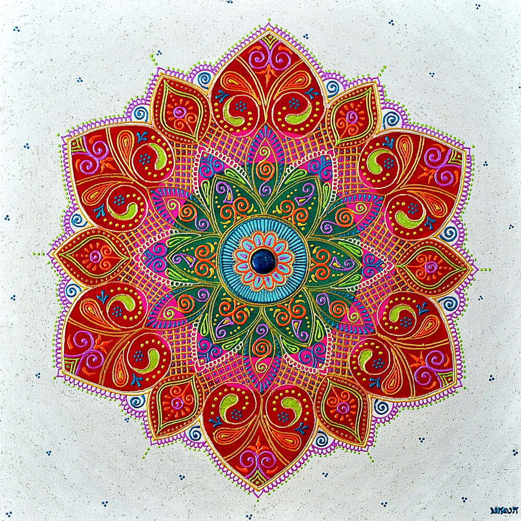 Compassion Mandala - Art by Bala