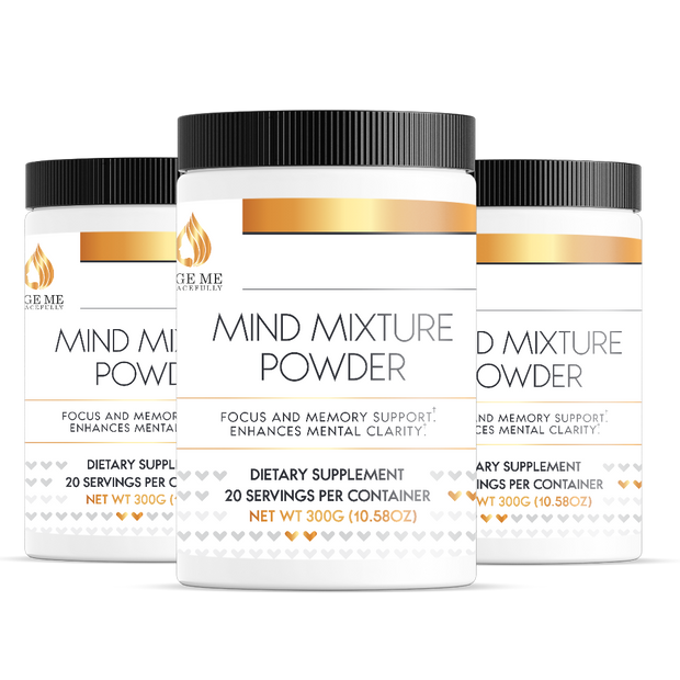 Mind Mixture Powder, 15g serv sz/300g-Age Me Gracefully