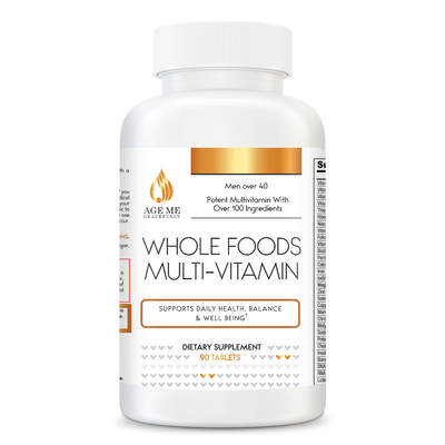 Whole Food Multivitamin's Men Over 40