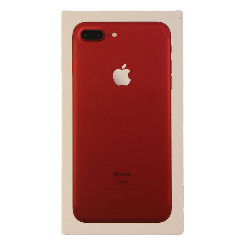 RETAIL BOX - Apple iPhone 7 Plus - 265GB Red - NO DEVICE