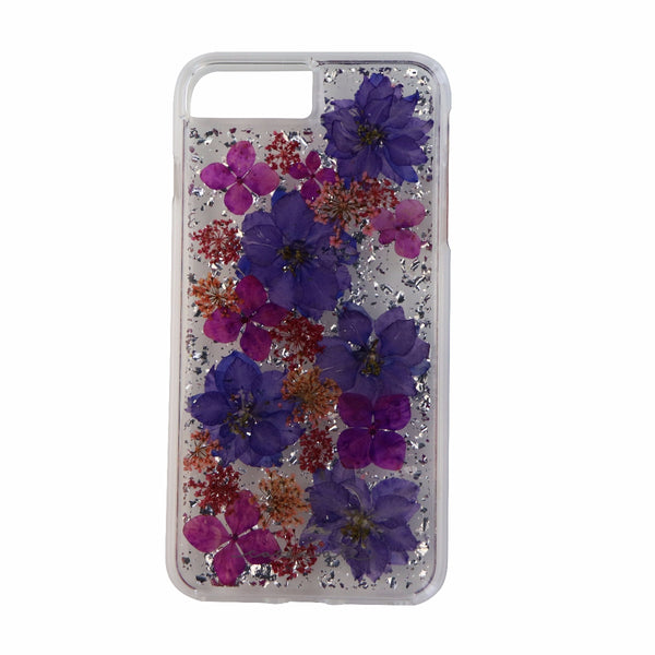 Case-Mate Karat Petals Case for iPhone 8 Plus/7 Plus/6s Plus - Purple Flowers