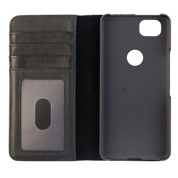 Case-Mate Wallet Folio Series Leather Case Cover for Google Pixel 2 - Black