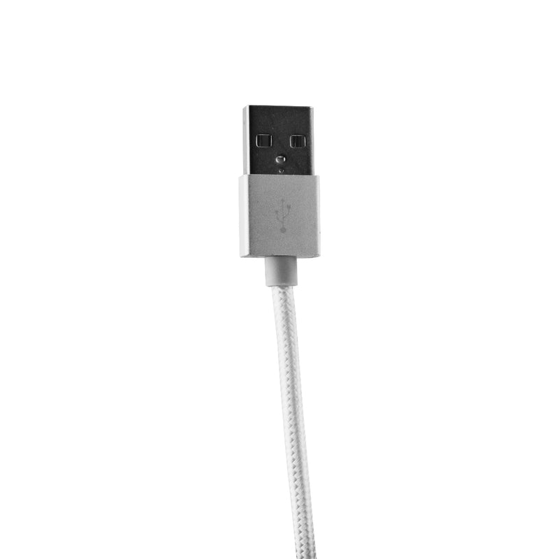 Just Wireless 6-Foot USB to Lightning Connector Charge/Sync Data Cable - White