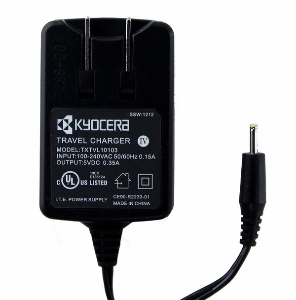 Kyocera Wall Charger (TXTVL10103) for Cell Phones - Black