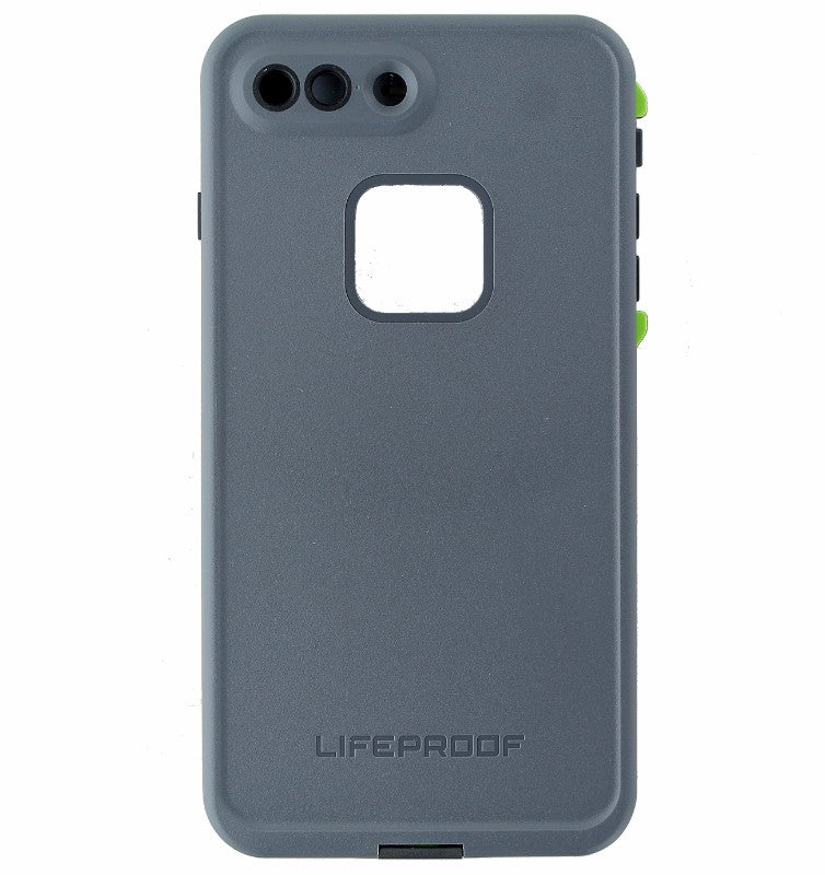 LifeProof FRE Waterproof Case for iPhone 7 Plus Only - Dark Gray/Lime Green