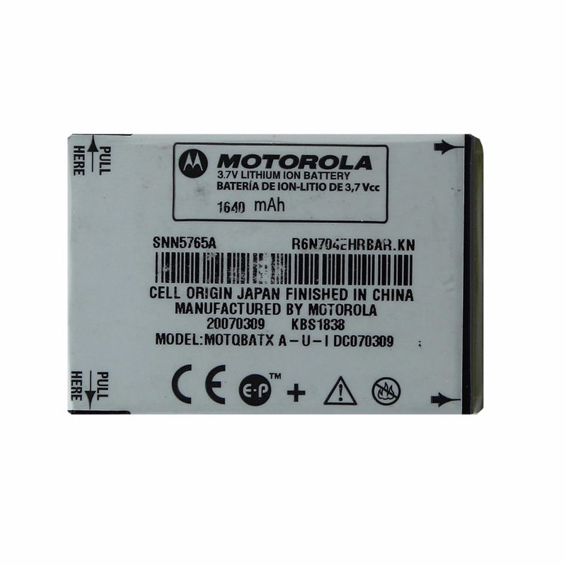 OEM Motorola SNN5765A 1640 mAh Replacement Battery for Motorola K1M/W385/Z6M