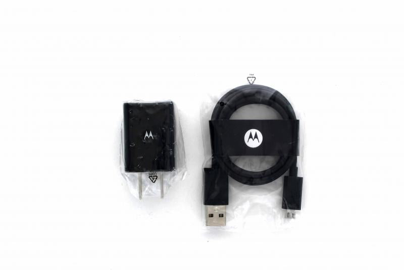 Motorola Micro to USB Travel Charger-SPN5797A/SKN6449A (Black) *