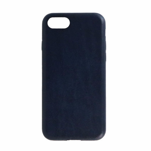 Nomad Slim Leather Case for Apple iPhone 8/7 - Midnight Blue Leather