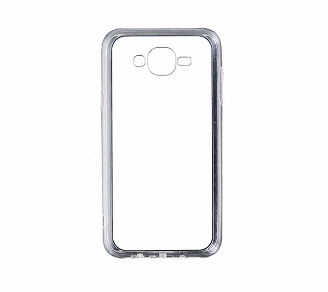 Qmadix C Series Premium Co-Molded Case for Samsung Galaxy J7 (2015) - Clear