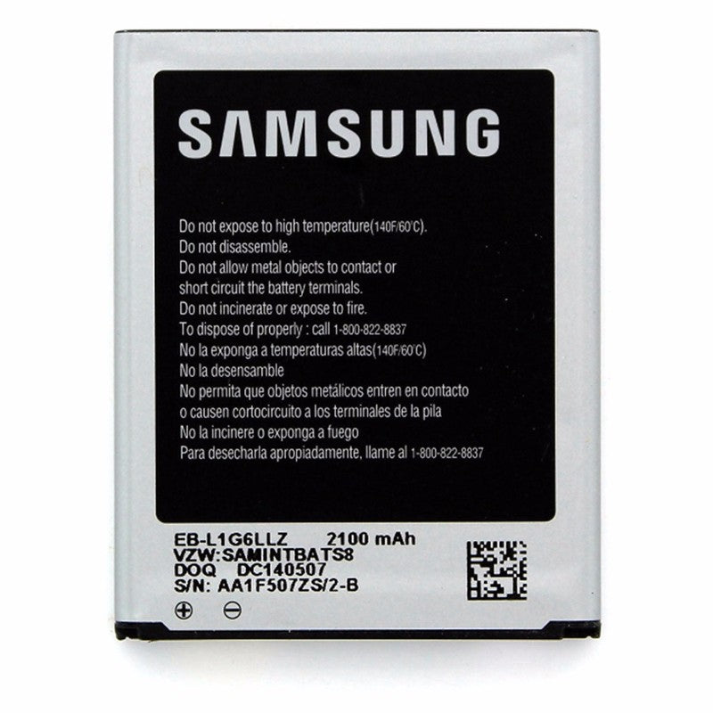OEM Samsung EB-L1G6LL 2100 mAh Replacement Battery for Galaxy S3 I535 I747
