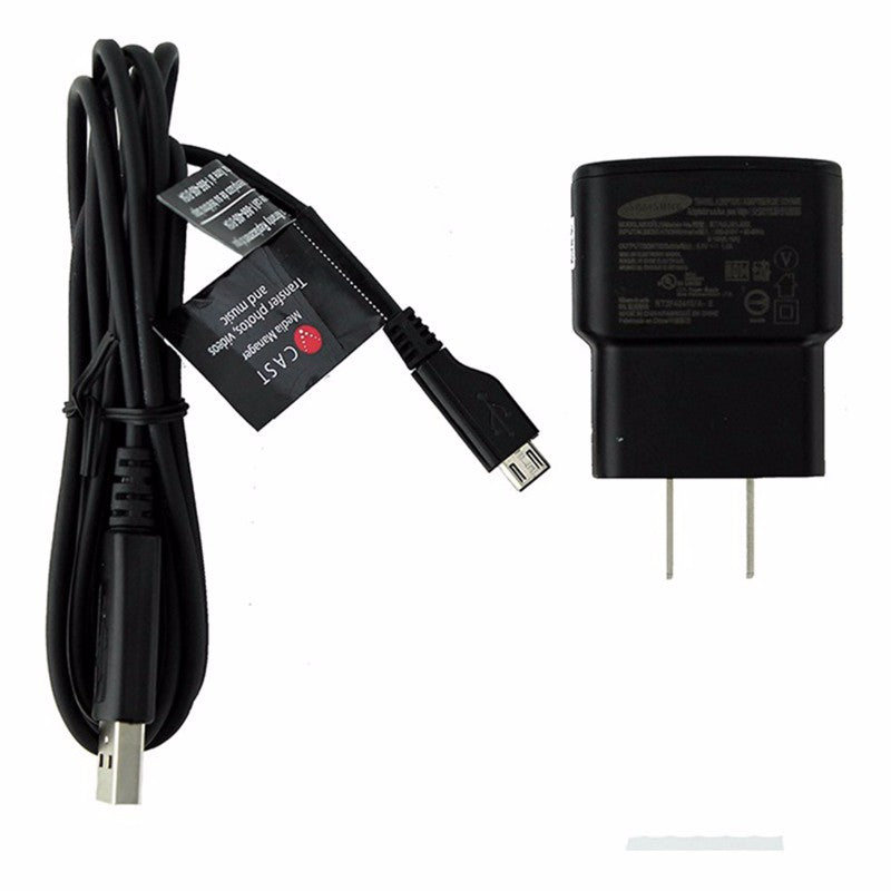 Samsung (ETA0U61JBE) 1A Travel Charger & Cable for Micro USB Devices - Black