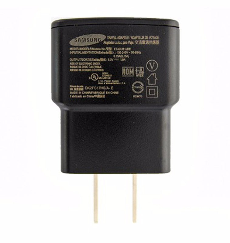 Samsung (ETA0U61JBE) 1A Travel Adapter for USB Devices - Black