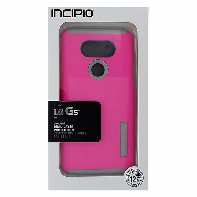 Incipio DualPro Case for LG G5 - Pink/Gray