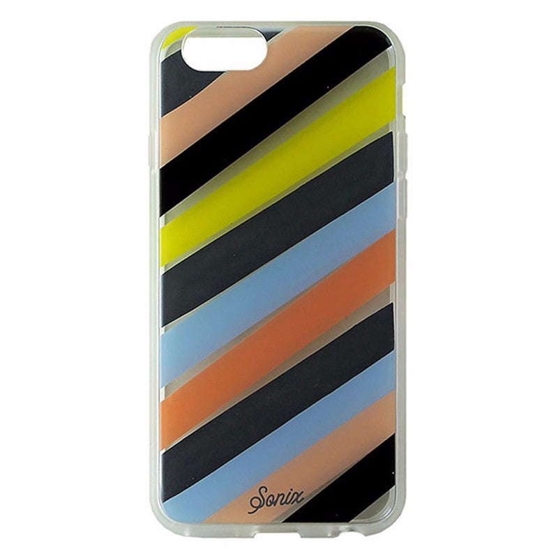 Sonix Clear Coat Series Case for Apple iPhone 6s/6 - Clear /Multi Checker Stripe