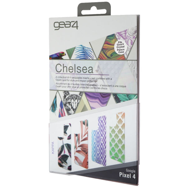 Gear4 Swappable Inserts for Google Pixel 4 Chelsea Cases - Kappa Edition