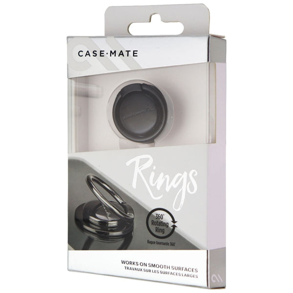 Case-Mate 360 Rotating Finger Loop/Ring and Stand for Phones - Black