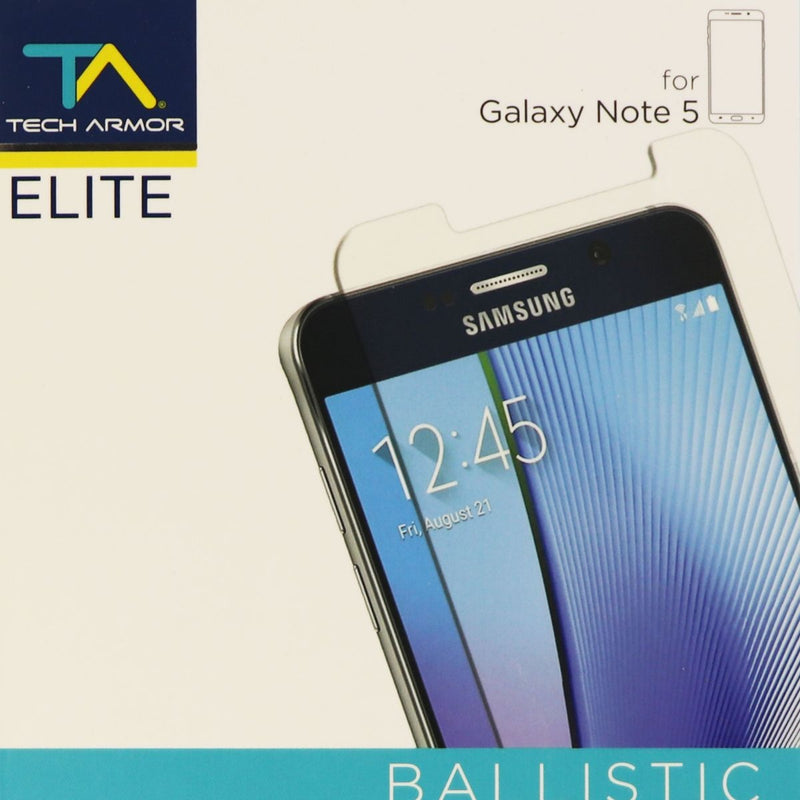 Tech Armor Elite Ballistic Glass Screen Protector for Galaxy Note 5 - Clear