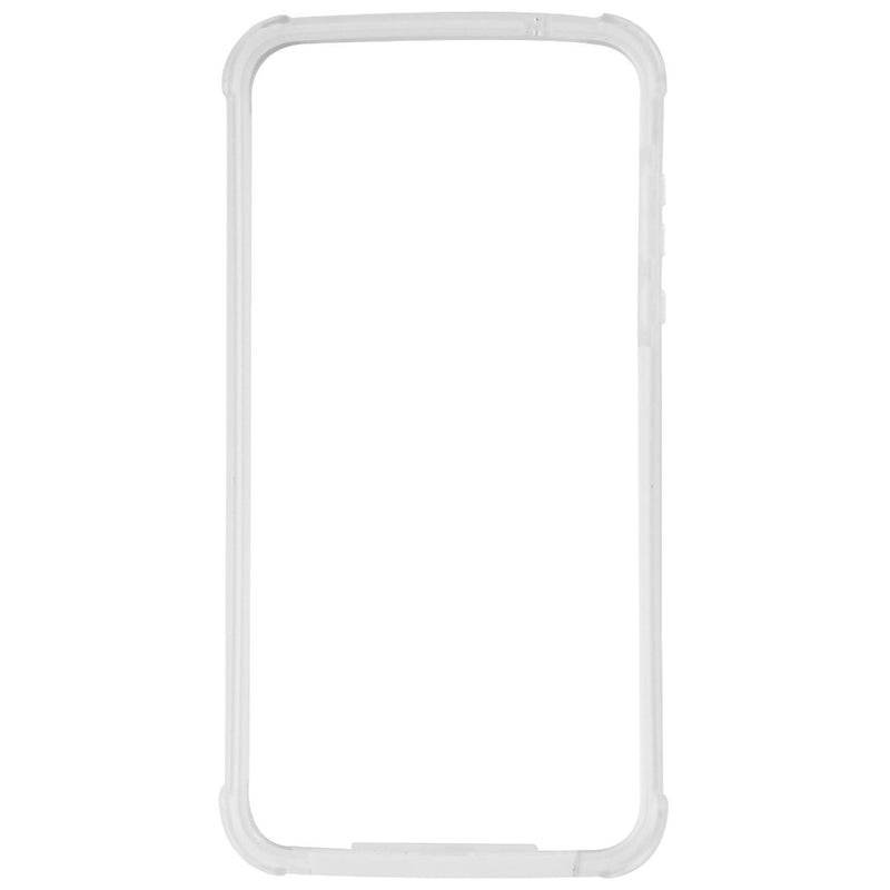 Verizon Bumper Cover for the Motorola Moto Z2 Play Smartphone - White / Clear