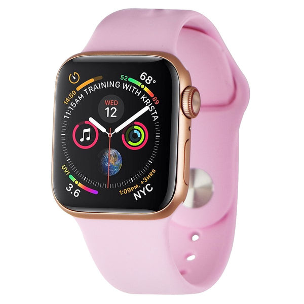 Apple Watch Series 5 (40mm) A2094 (GPS + LTE) - Gold / Pink Sport Band