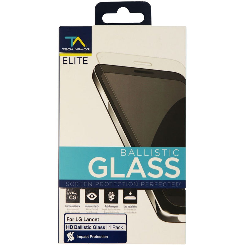 Tech Armor Elite Series Ballistic Glass Screen Protector for LG Lancet - Clear