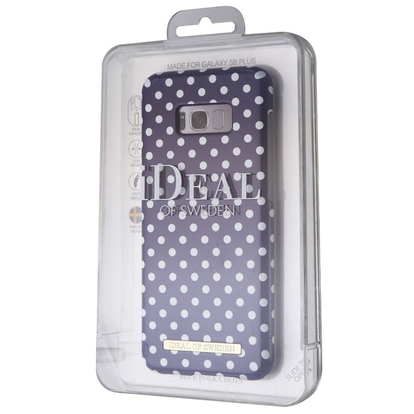 iDeal of Sweden Case for Samsung Galaxy S8+ (Plus) - Blue Polka Dots