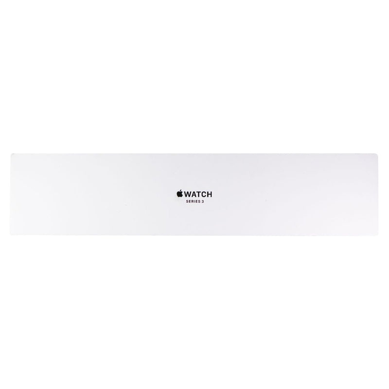 RETAIL BOX - Apple Watch Series 3 (A1861) 42mm Silver AL/White Sp - NO DEVICE