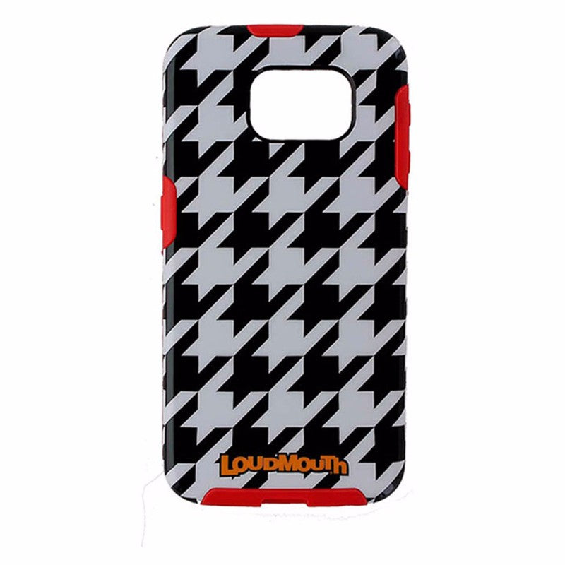 M-Edge LoudMouth Hybrid Case for Samsung Galaxy S6 - Black / White / Red