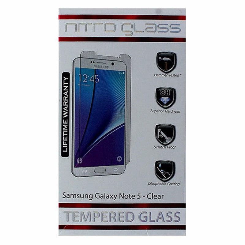 ZNitro Tempered Glass Screen Protector for Samsung Galaxy Note5 - Clear