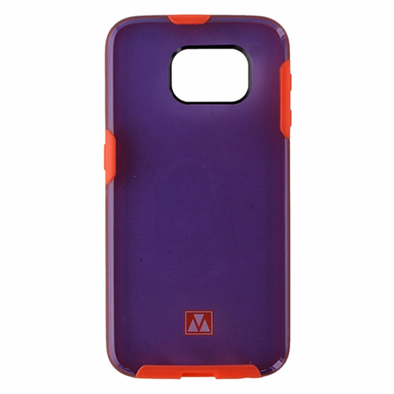 M-Edge Glimpse Hybrid Case for Samsung Galaxy S6 - Translucent Purple / Red