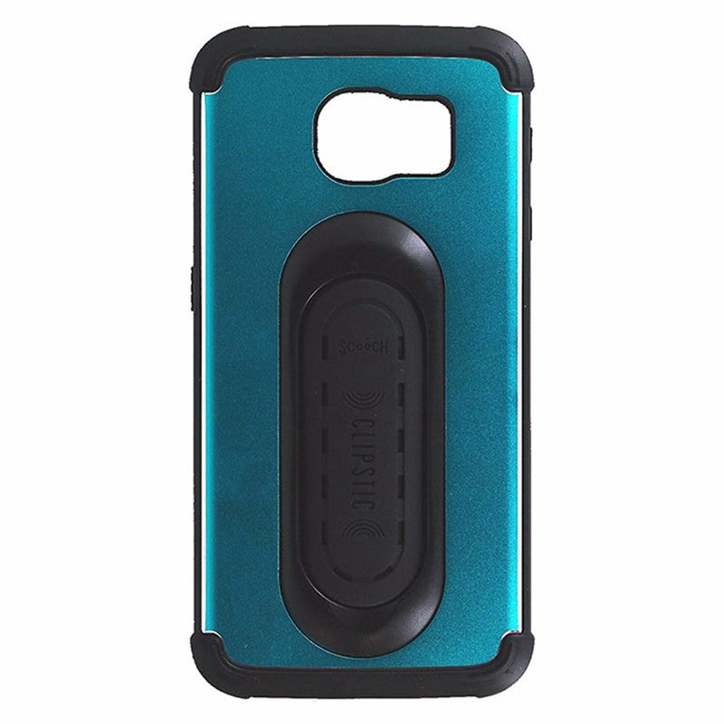Scooch Clipstic Pro 4 in 1 Hardshell Case for Samsung Galaxy S6 - Turquoise Blue